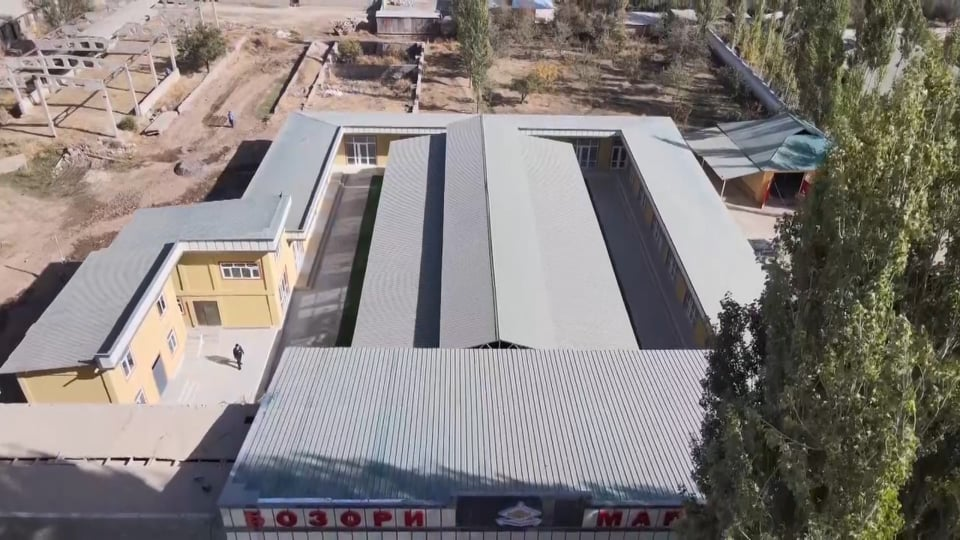 Ифтитоҳи бозор дар маркази ноҳияи Шамсиддини Шоҳин