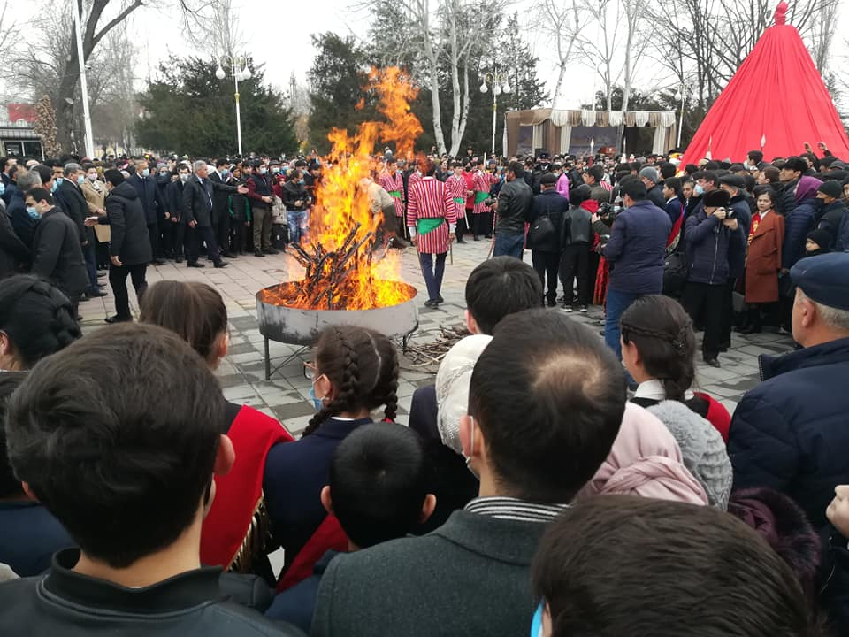 Таҷлили ҷашни Сада дар шаҳри Душанбе